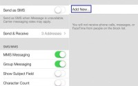 how to block calls and messages in ios7 using blocking feature