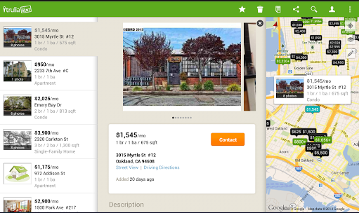 Top Android Apps For Searching Rental Apartments And