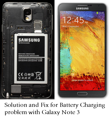 Samsung Galaxy Note 3 Charging slow solution
