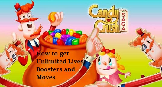How to get Unlimited Lives, Boosters and Moves in Candy crush saga in