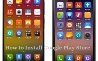 How to install Google Play Store in Xiaomi Mi4 and Xiaomi Mi 3