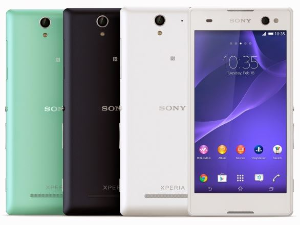 Sony Xperia C 3 the Selfie Phone released with details