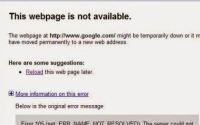 How to solve or fix error 105 in google chrome