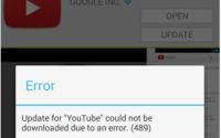 How to solve or fix error 961 in google play store