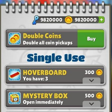 How to get unlimited keys and coins in subway surfers for android